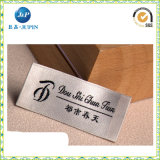 Het fabriek Aangepaste Etiket van het Kledingstuk van het Teken van het Merk, Geweven Etiket (JP-CL065)