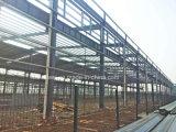 Fuerte estructura de acero resistente bastidor de almacén portátil como taller de construcción