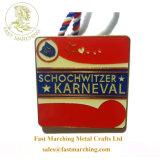 卸売は記念日およびシェールのための謝肉祭のフェスタのエナメルメダルをカスタマイズする