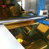 Panneau de polyester de couleur feuille en aluminium avec revêtement