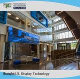 Píxel fijo interior paso P5 LED de alta resolución de pantalla digital de medios de publicidad