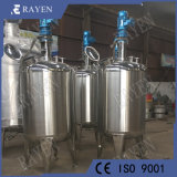 Réservoir de réaction en acier inoxydable cuve de mélange à liquides chimiques