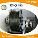 合金の車輪の縁CNCの旋盤のダイヤモンドの切口の車輪機械
