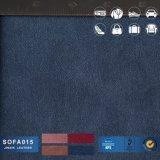Sofá de couro para PVC Leathersofa Mobiliário Material de couro
