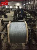 Cabo 6X37+FC/Iwrc da corda de fio de aço de Ungalvanized feito em Nantong