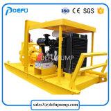 Moteur diesel de sable des eaux usées le transfert horizontal de la pompe centrifuge de lisier