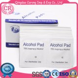 70% de álcool isopropílico álcool médicos de alta qualidade descartáveis Almofada Prep