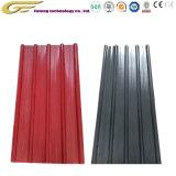 Pintura de color galvanizado de materiales de construcción de techos de chapa de acero corrugado hoja