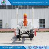 Nieuw Iso9001/ccc- Certificaat 2/3 de Aanhangwagen van de Container van het Skelet van Assen Fuhua/BPW voor Vervoer van de Container 20/40FT