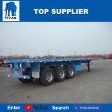 대륙간 탄도탄 차량 - 평상형 트레일러 트럭 트레일러 40 피트 중국제