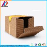 Коробка твердого Corrugated вина Paperboard упаковывая с шнуром