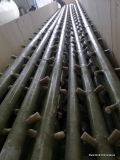 Anti corrosão do tubo plástico reforçado para a torre de resfriamento interno e externo usando