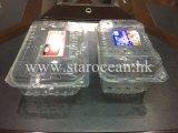 Belüftung-Maschinenhälfte, die Plastikkasten verpackt