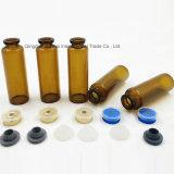 De amber Tubulaire Standaard Chemische, Farmaceutische Fles van het Glas