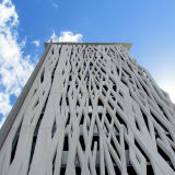 PVDF Coating Perforated Aluminum Panels para Shop Decoration