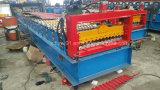 Métal de panneau de mur de prix usine couvrant le roulis ondulé de tuile formant la machine à vendre