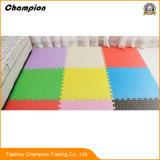 Обычный цветной EVA коврики для детей, пользовательские из пеноматериала EVA головоломки коврик взаимосвязанных коврик для детей
