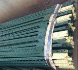 미국 강철에 의하여 장식용 목을 박는 T Post/1.33lb 녹색 그려진 T 바 포스트