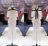 Короткий шнурок линия платья коктеила Wgf157 партии вечера