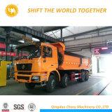 Shacman 6*4 광업 덤프 트럭 팁 주는 사람 트럭