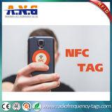 NFCは22mm 168バイトのあたりのステッカーNtag213の円に付ける