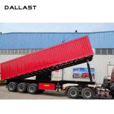 Único cilindro hidráulico telescópico ativo para o caminhão da exploração agrícola