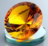 Multi Color New Cut Big Crystal Diamond Paperweight Wedding Centerpiece