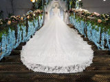 Planície Aolanes Lace Mermaid Strapless vestido de noiva 110645