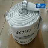 manichetta antincendio piana posta del grande diametro di lotta antincendio di alta qualità 150psi