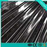 strato d'acciaio ondulato tuffato caldo del tetto galvanizzato Gi di 0.13mm Dx51d