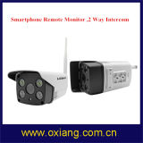 Macchina fotografica astuta esterna impermeabile senza fili del IP di P2p WiFi di colore completo della macchina fotografica del CCTV di IR del citofono di 2 modi