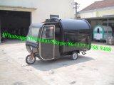 食糧トレーラーの通りの移動式食糧カートの中国の工場移動式食糧トラック
