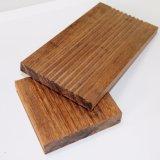 Suelo al aire libre del bloqueo fácil con el bambú tejido hilo