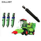 O curso de ação dupla 800mm manual hidráulico do cilindro para máquinas agrícolas