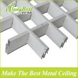 La cuadrícula de célula abierta de aluminio 2018 azulejos de techo para la estación supermercado