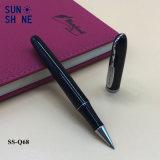 管理の金属のギフトのペンビジネス黒のローラーのペン