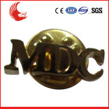 Chinesisches Metallweiche Decklack-Abzeichen