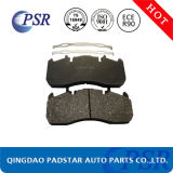 Nenhuma almofada de freio resistente do caminhão do mercado de acessórios do ruído