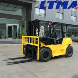 Ltmaの上の製造者タクシーが付いている7トンのディーゼルフォークリフト