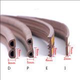O EPDM Foamd Eliminador Raught Backup adesivo para porta de madeira