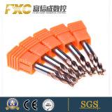 4 Snijder van het Malen van het Carbide van de fluit HRC45 de Ruwe Vierkante