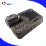 Рекордер I1000 автомобиля DVR с камерой черточки видеозаписывающего устройства HD автомобиля G-Датчика 720p широкоформатной