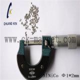 Ck-205 Características imán AlNiCo Φ 1*2mm