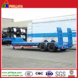 Lowbed 2-3 Welle 30-100 Tonnen niedrige Bett-Ladevorrichtungs-LKW-halb Hochleistungsschlußteil-