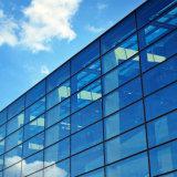 vetro laminato temperato pianura eccellente del Basso-Ferro di 12mm grande