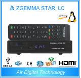 Casella in tensione di LC IPTV di Enigma2 Linux della Zgemma-Stella originale di OS DVB-C