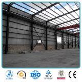 Vertiente prefabricada de la fábrica de la estructura de acero del diseño de la construcción