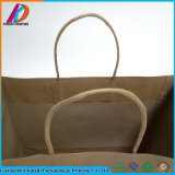 Bolso de empaquetado del regalo del papel de Brown Kraft con la maneta Twisted