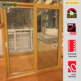 Woodbrin UPVC Double Panels Porte coulissante à double vitrage