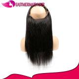 Del Virgin frontale 360 capelli umani 13*4 del merletto diritto